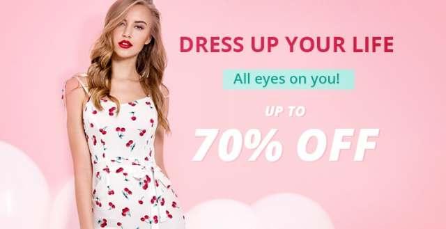 Dresses Sale promotion