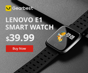 Gearbest $39.99 for Lenovo E1 1.33-inch TFT Screen Sports Smartwatch Global Version promotion