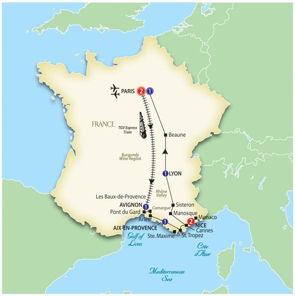 Trafalgar Tours: Wonderful France 2012