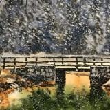 [2021水彩作品] 加拿大雪景