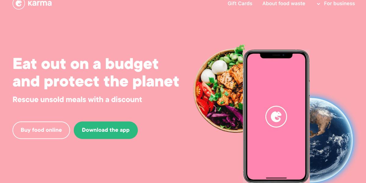 [瑞典環保] 大推Karma app,省錢又可減少食物浪費