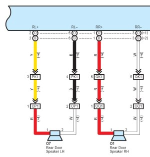 Does anybody have the audio wiring diagram for a 2012