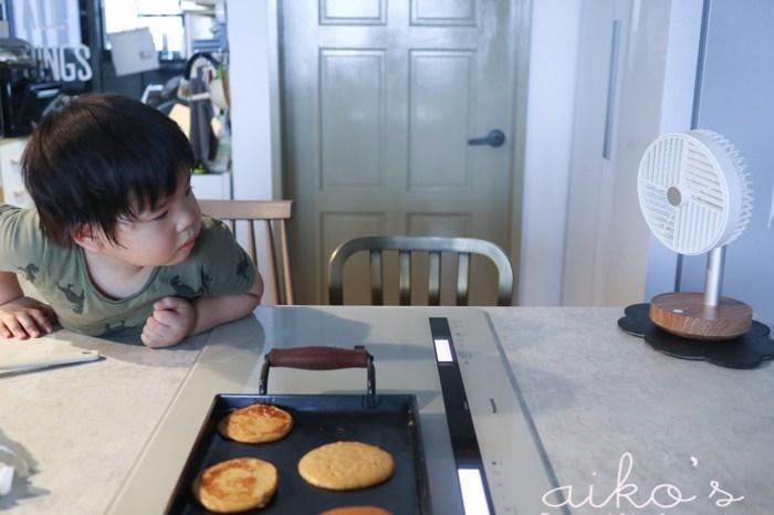 【桃園中壢】3Y4M:充當小幫手的假日早餐時光~