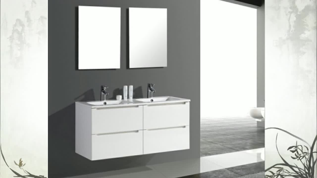 Mdf Classic Stainless Steel Vanity Double Basin Top