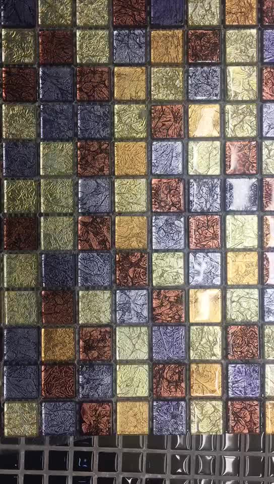 Modern Price For Mosaic Gold Foil Mosaic Tiles Philippines ...