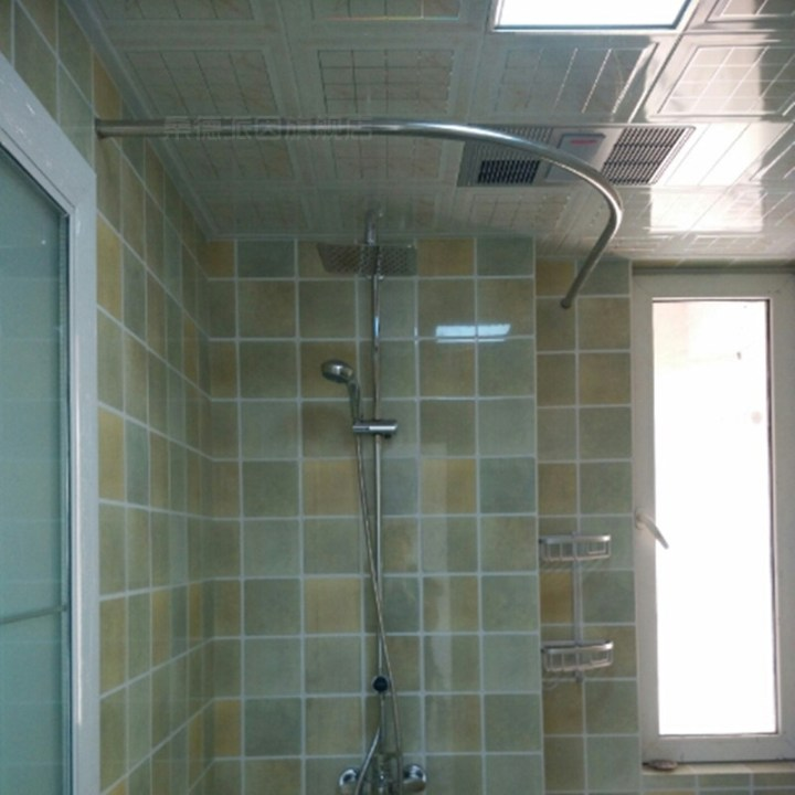 what size shower curtain for curved rod | Gopelling.net