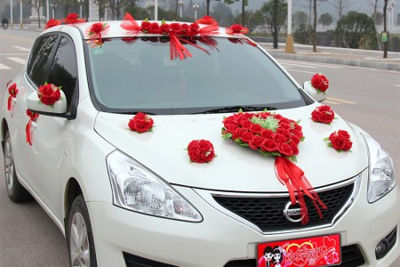 Wedding car flowers decoration path decorations pictures full set lot wedding car decoration artificial flowers set round set lot wedding car decoration artificial flowers set round wedding car flower decoration junglespirit Choice Image
