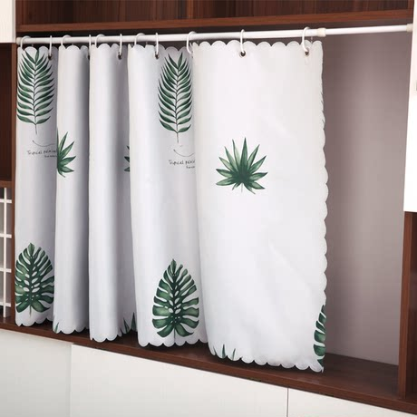 bookcase curtains dust proof curtains