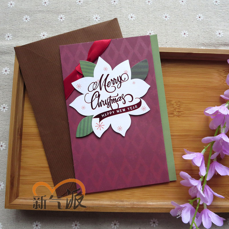 Buy New Style New Three Dimensional Christmas Cards