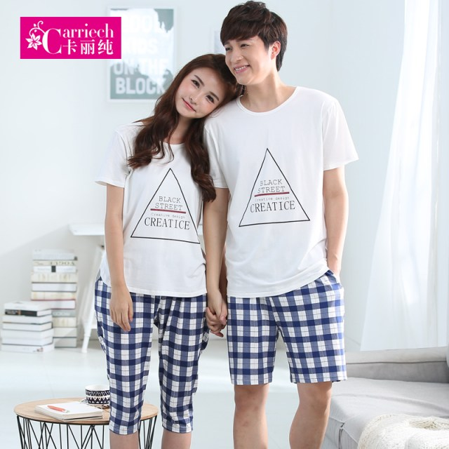 Buy Two Sets Of Price Summer Korean Men Cotton Shorts Five Pants Thin Section Ms Couple Pajamas Home Service Package In Cheap Price On M Alibaba Com
