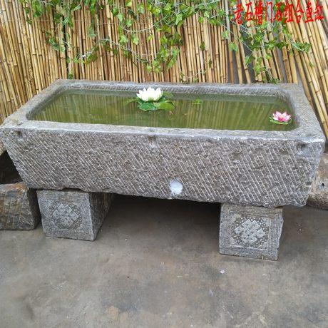 stone trough fish tank fish farming