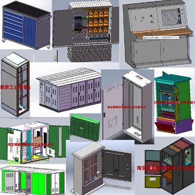 820套鈑金圖紙/威圖櫃圖紙控制櫃GGD網路機櫃圖紙環網櫃KYN28圖紙