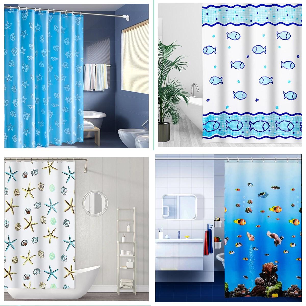 Bathroom Curved Shower Curtain Rod Shower Curtain Set Free