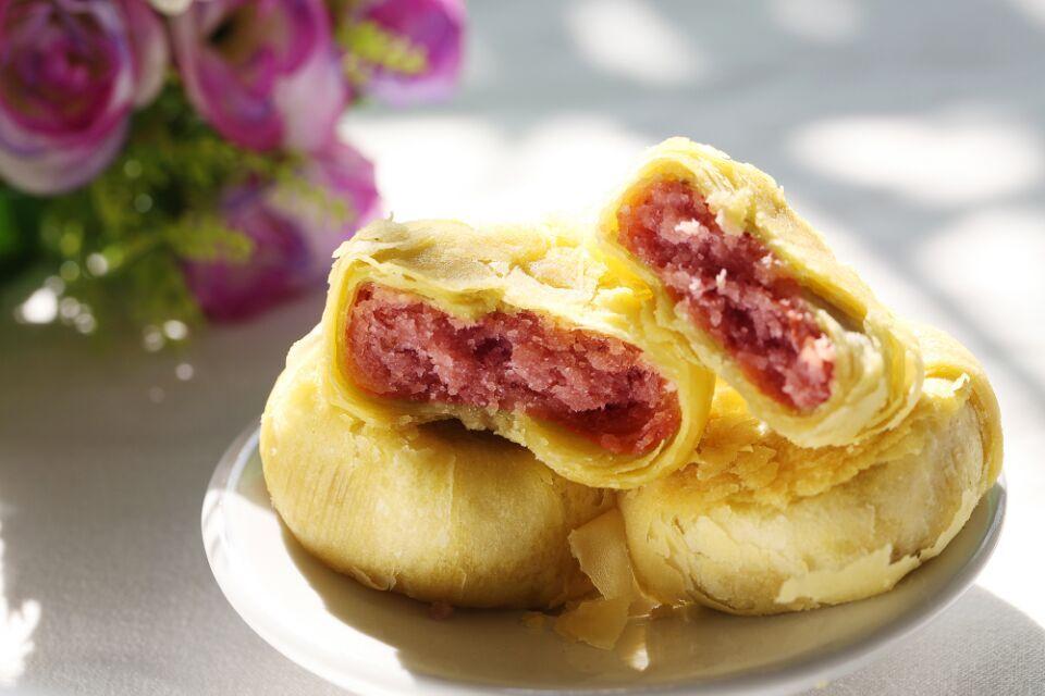 甘肅丁娃玫瑰餅蘭州特產苦水鮮花餅特色傳統小吃零食點心20枚包郵