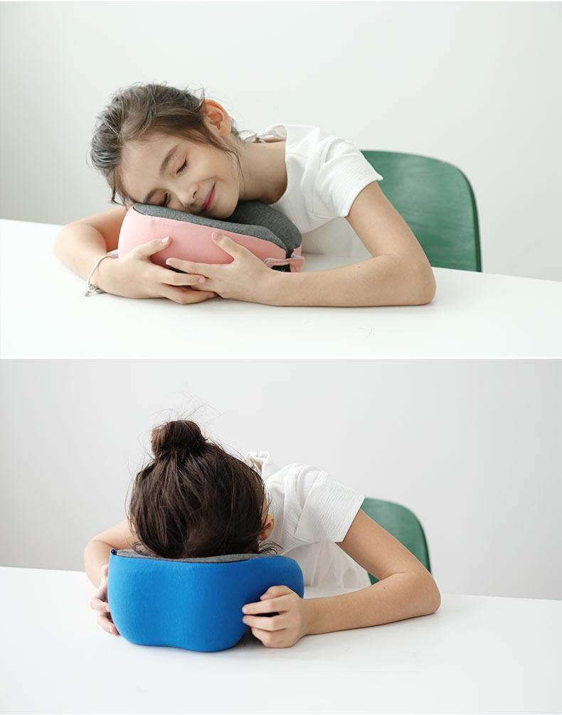 HNOS學生午睡枕午覺午休神器夏季兒童趴睡趴趴睡覺抱枕U型護頸枕 - 原創商城