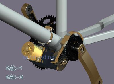 電動腳踏車改裝套件配件超輕中置電機自行車DIY改裝套件