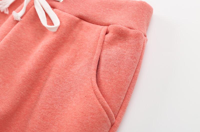 Warm Thick Lambskin Cashmere Pants Women Loose Pant