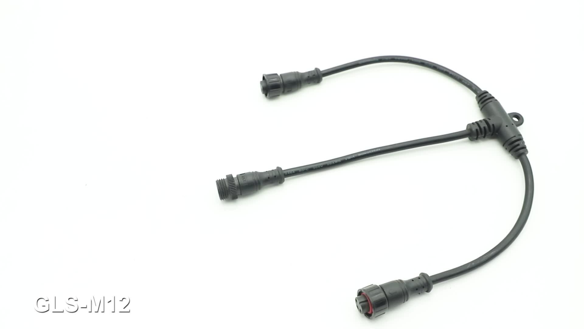 Premium Quality Pvc Pu Electrical Male Amp Female Waterproof