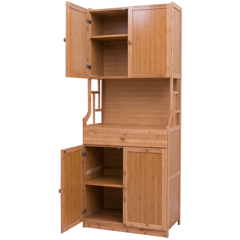 simple dining cabinet kitchen microwave
