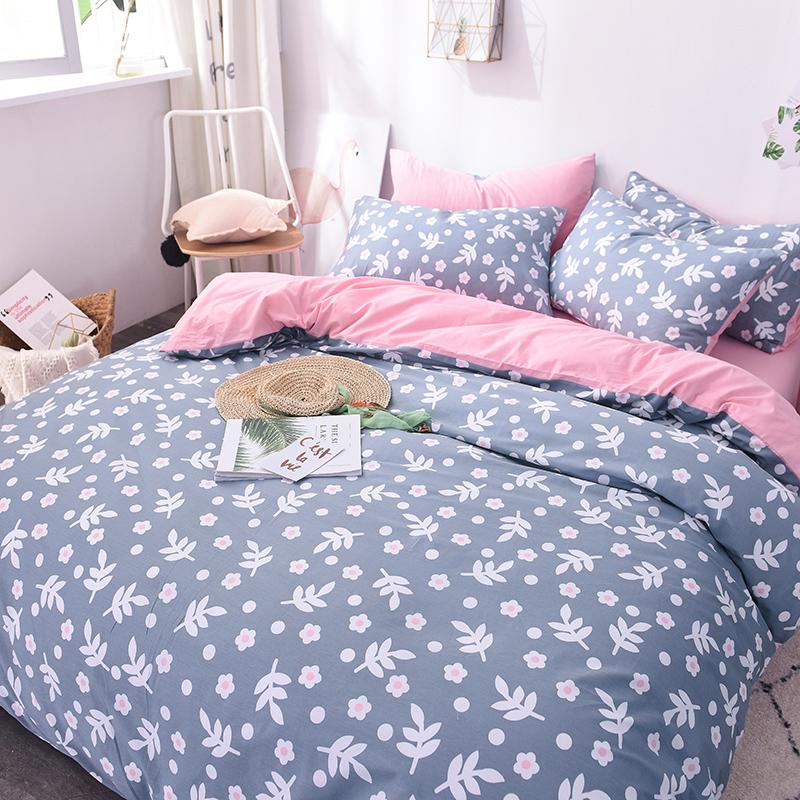lit happy ray ins quatre ensembles de lit en coton dortoir draps de couverture trois ensembles de lit de 1 8m couvre lit