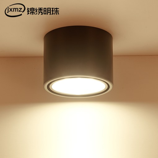 LED wall mounted ceiling light spotlight clothing shop aisle porch     LED wall mounted ceiling light spotlight clothing shop aisle porch showcase  bar top ceiling round hanging downlight
