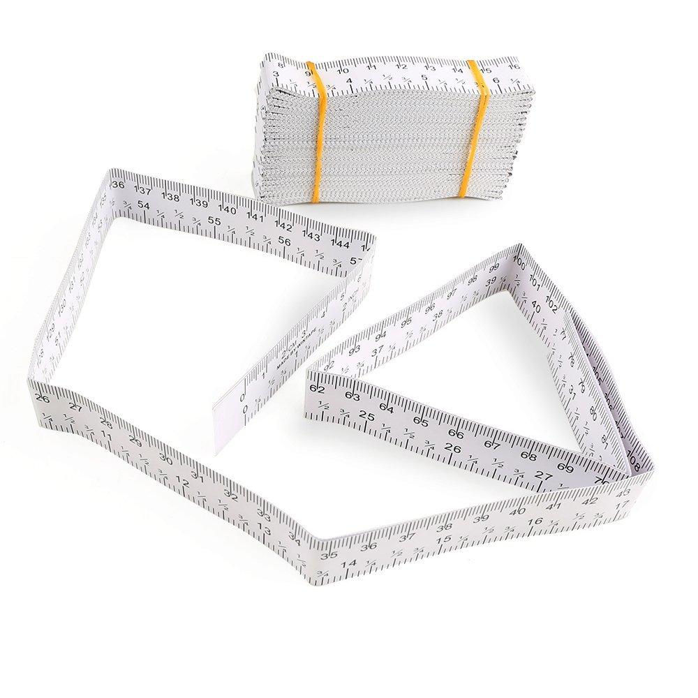 醫用紙尺 1米 1.5米頭圍尺 單面刻度量衣多功能 刻度 迷你測量尺