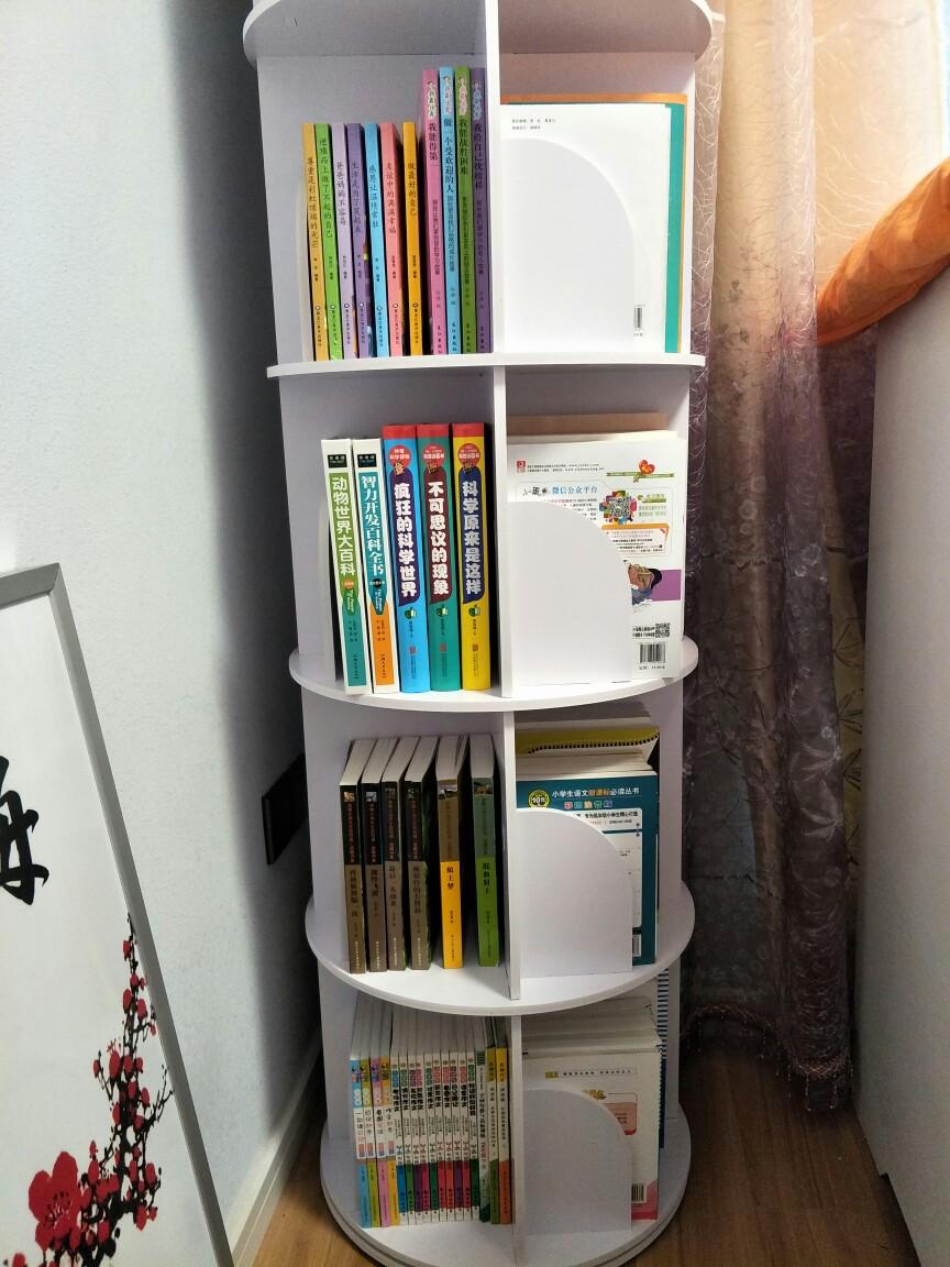 Usd 84 20 Creative Rotating Bookshelf 360 Bookcase Modern