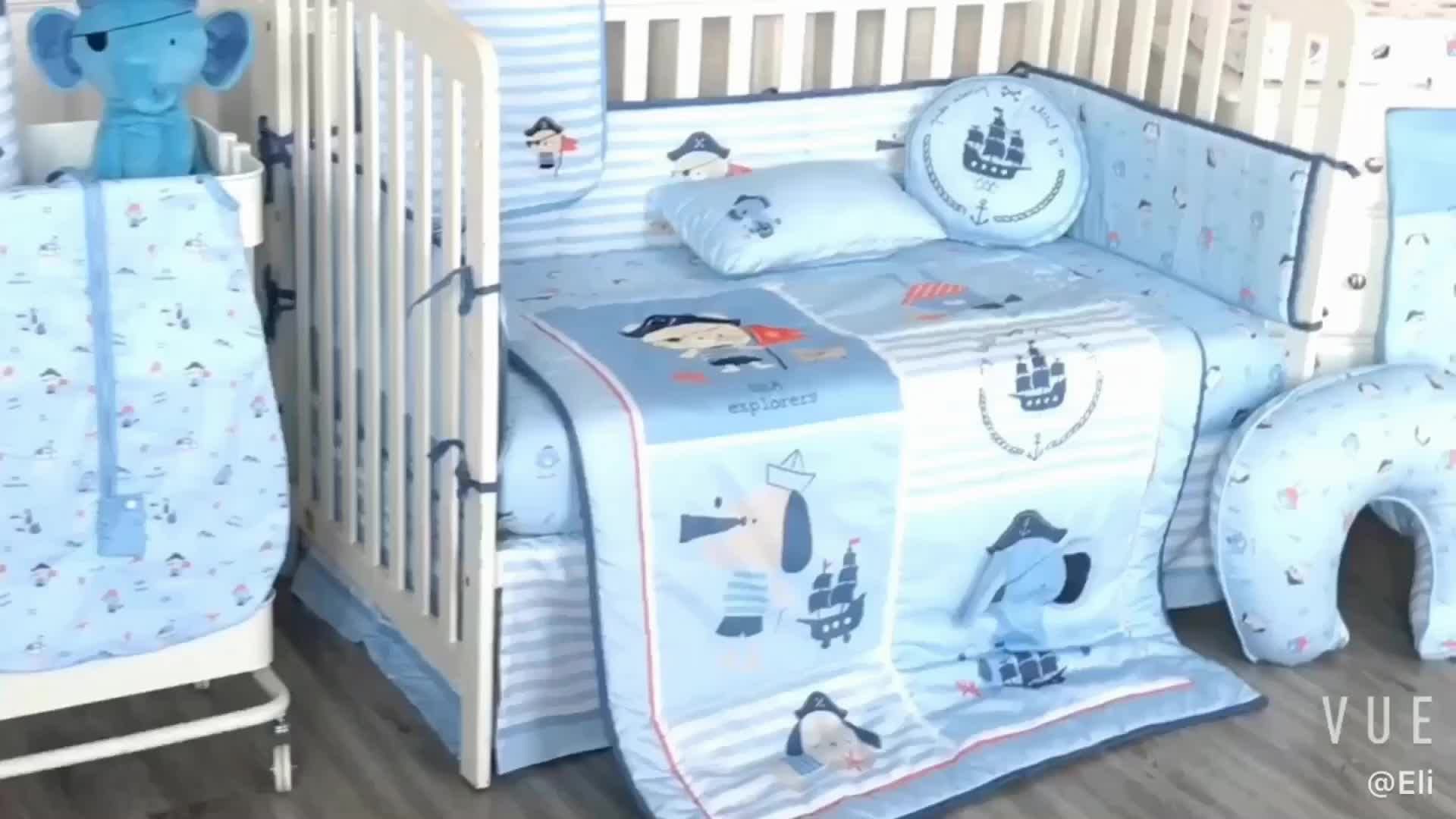 100 Cotton Cot Bed Set Cartoon Pirate Captain Theme Baby Boy Bedding Set View Baby Boy Bedding Set Tianxiu Product Details From Wuxi Tianxiu Textile Co Ltd On Alibaba Com