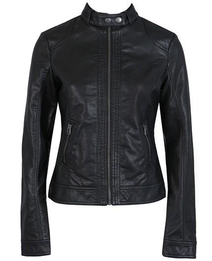 T2im9.XmBXXXXXXXXX %21%21742603855 2018 Fashion New Women's Jacket European Fashion Leather Jacket Pimkie Cleaning Single PU Leather Motorcycle Temale Women's Leat