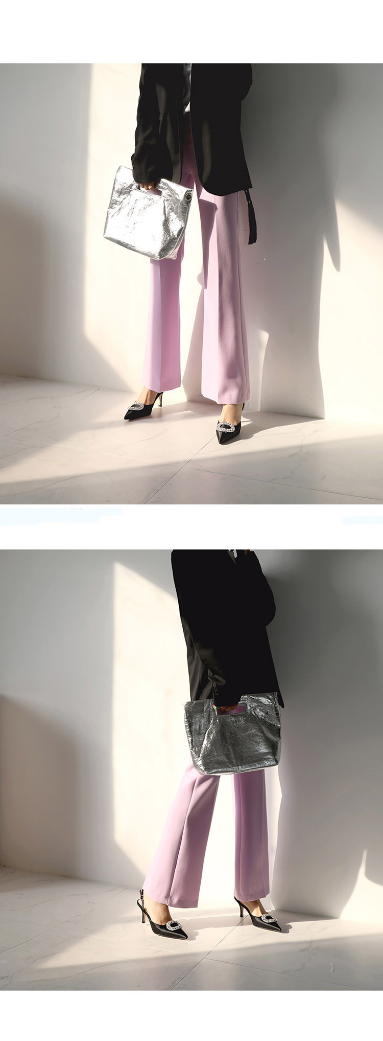 Summer new stiletto pointed high heel rhinestone buckle sandals Satin Korean version of the wild Baotou female cool shoes