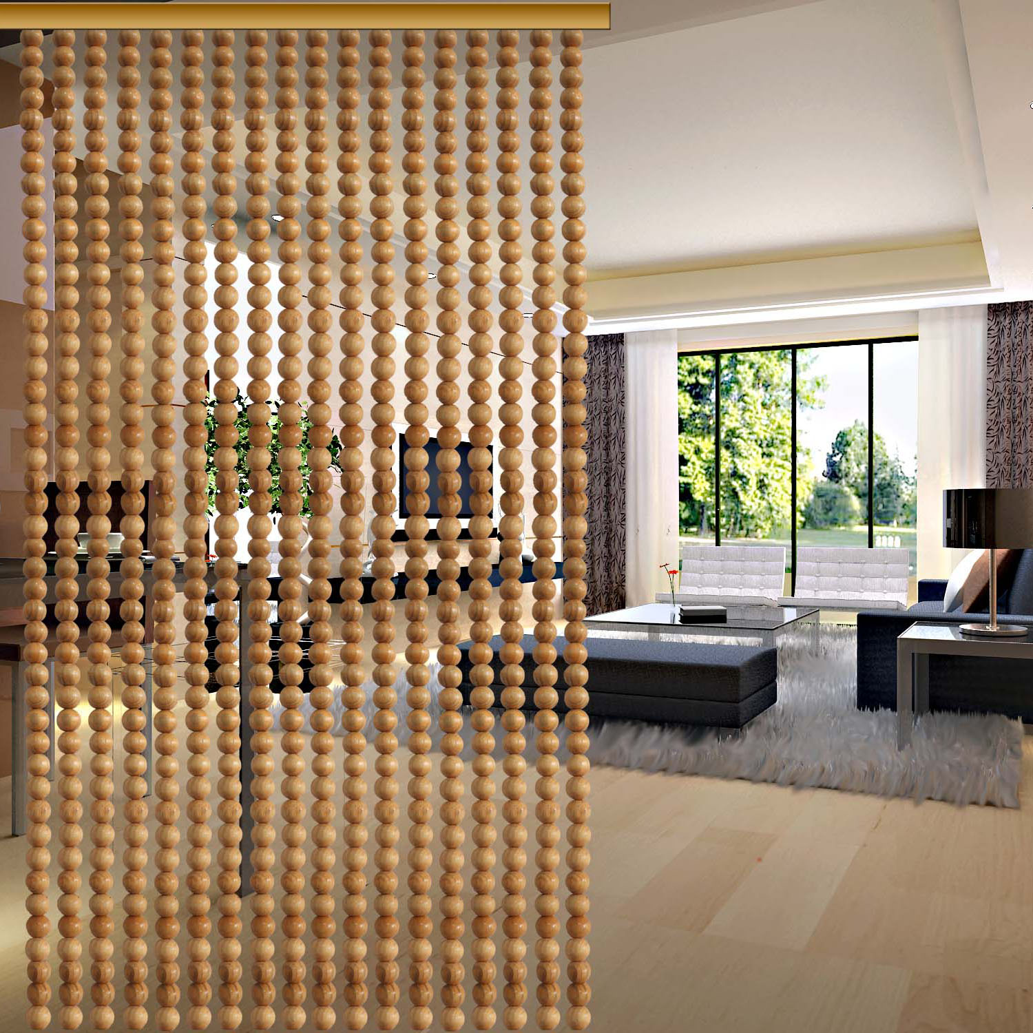 usd 5 43 wooden door curtain finished