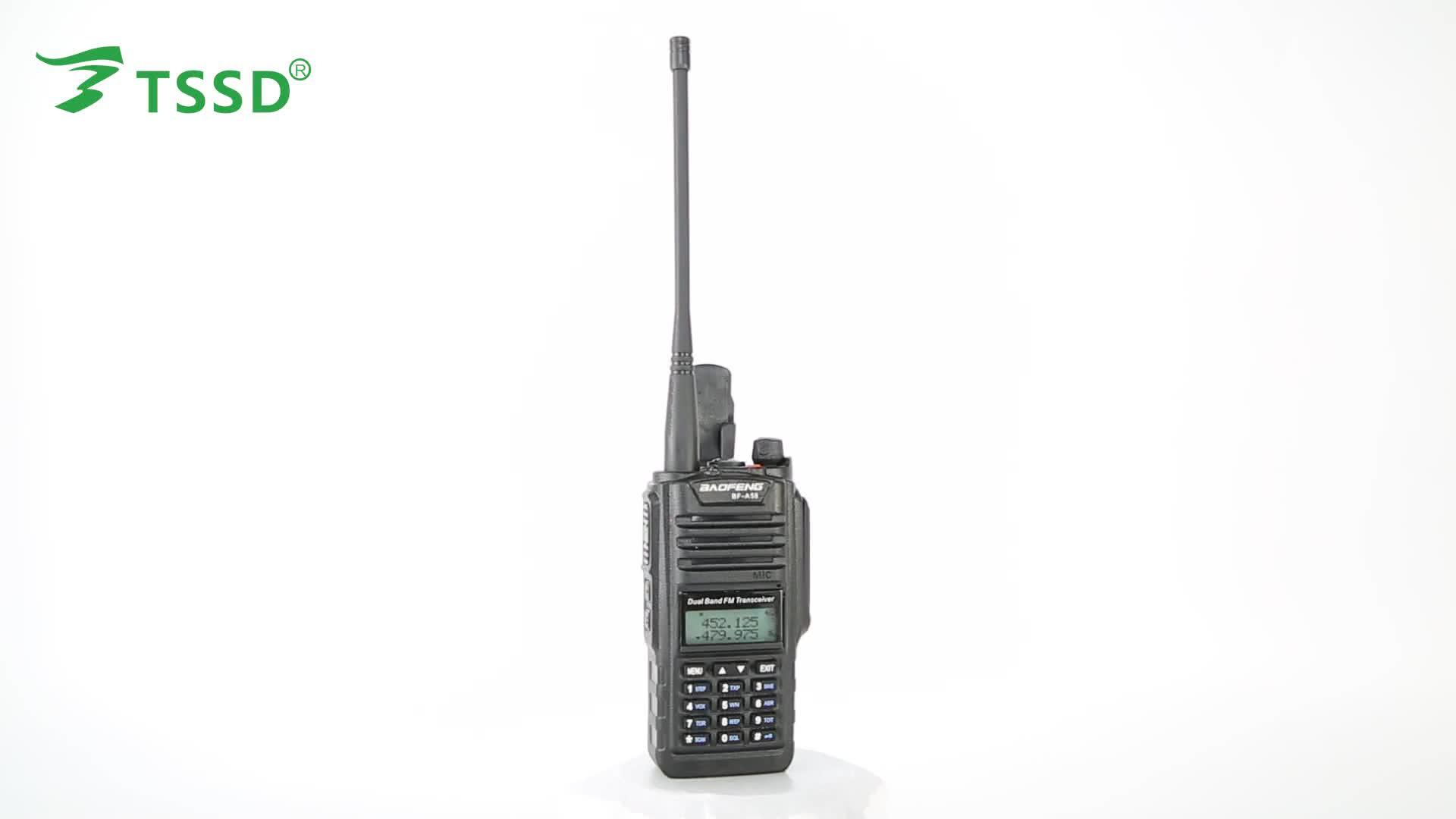 Dual Band Vhf Uhf Pofung Baofeng Bf A58 Professional Fm Transceiver Waterproof Radio