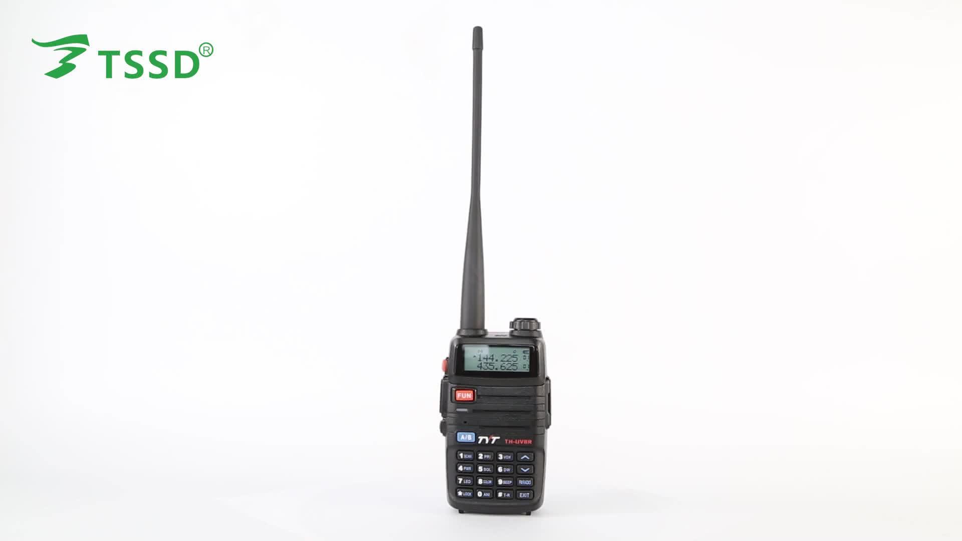 Th Uv8r Long Range Vhf Uhf Dual Band Ham Amateur 10 Watts