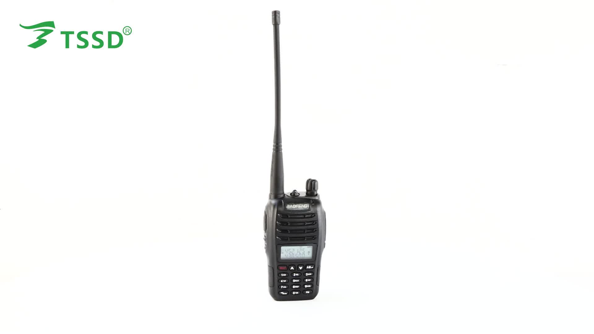 Baofeng Uv B6 Dual Band Walkie Talkie Uhf Amp Vhf Fm