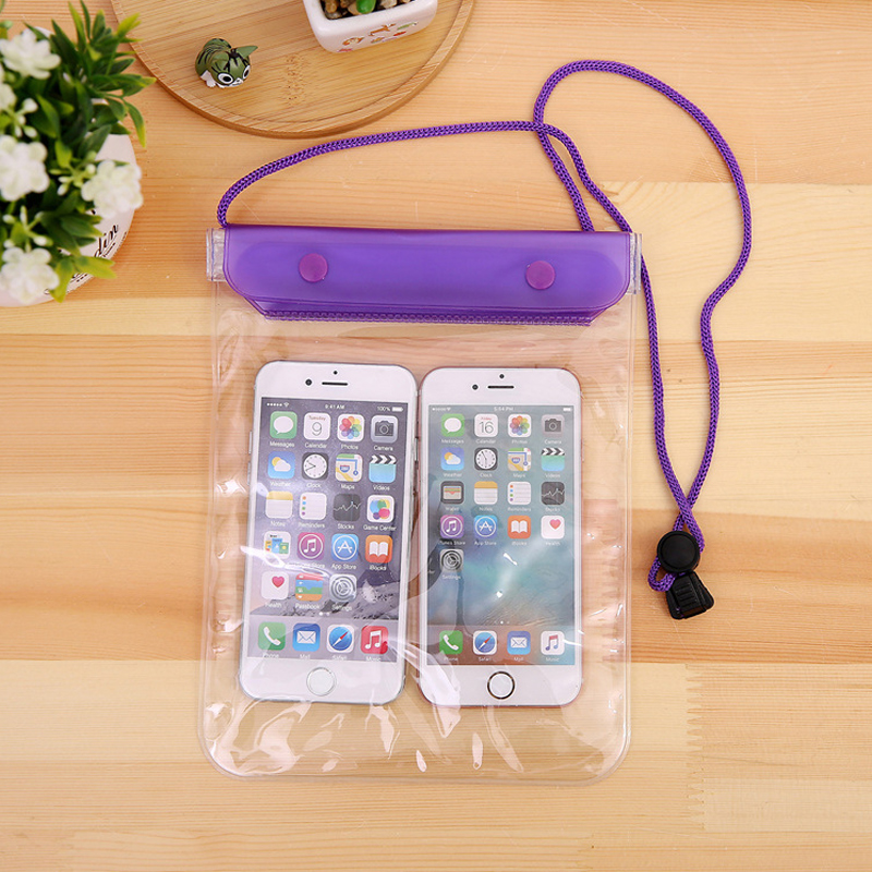 手機防水袋潛水套觸屏游泳保護套防塵防雨袋外賣專用蘋果華為通用 - 領券立減元 到手價16.8元 53人已購買