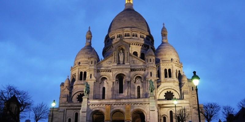 【巴黎】夜遊蒙馬特.聖心堂.俯瞰巴黎夜景.小丘廣場