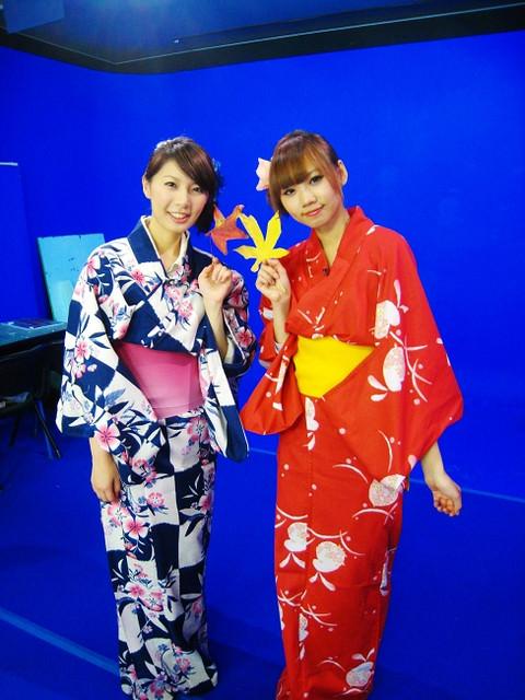 日本Day129 終於穿到浴衣囉!