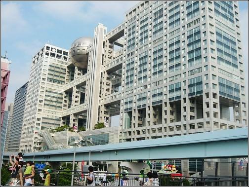 日本Day30|台場超好玩。富士電視台。Venus Fort