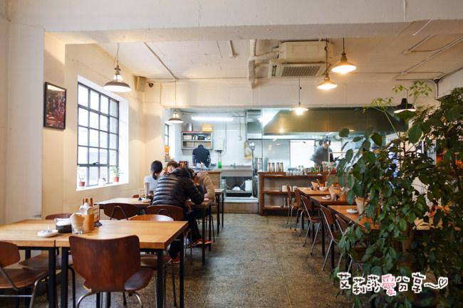 【首爾】漢城文庫(新沙洞林蔭道).像咖啡館的韓式拉麵店