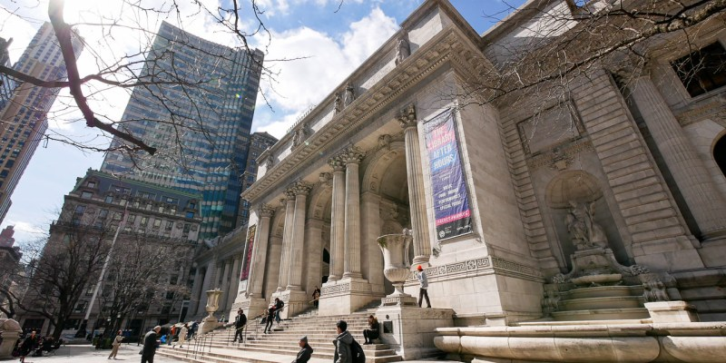 全球最美之——紐約公共圖書館・電影「明天過後」拍攝地