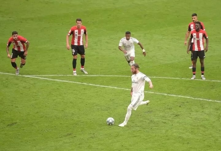Athletic 0-1 Madrid: Ramos extend gap on Barca to 7 pts 6