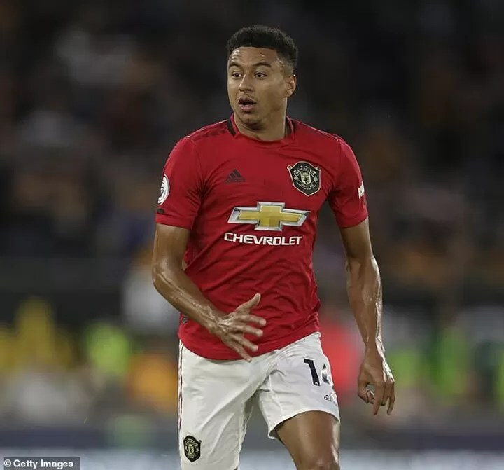 Manchester United are prepared to sell Jesse Lingard this summer 3