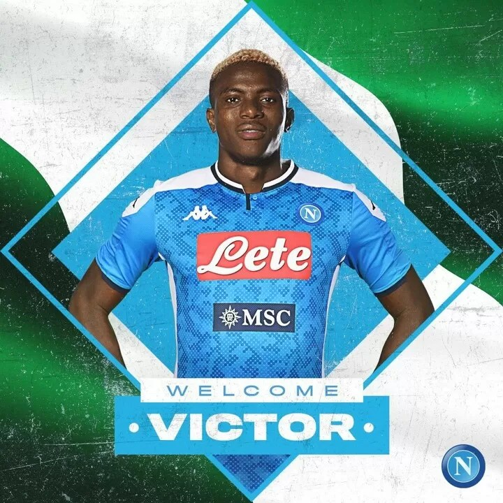 BREAKING: Napoli complete signing of Lille star Osimhen for reported £74m 3