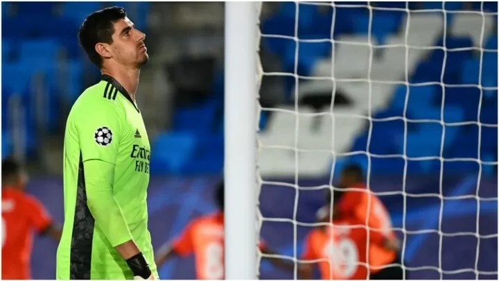 Madrid's worst scoreline at half time in UCL history 2