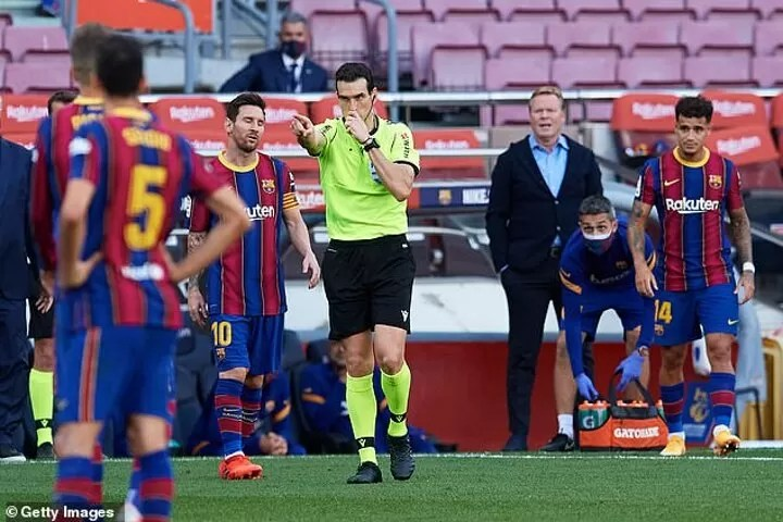 Barcelona file complain on El Clasico referee over Real Madrid connections 2