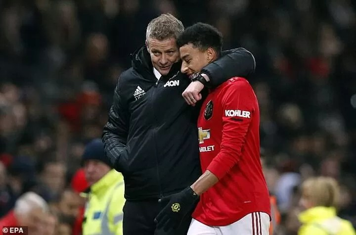 What happened to Jesse Lingard? 15