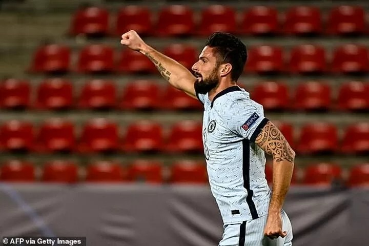 Frank Lampard insists Olivier Giroud has part to play in his Chelsea plans 2