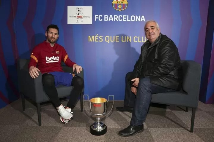 Messi: It's horrible playing without fans in the stadium 3