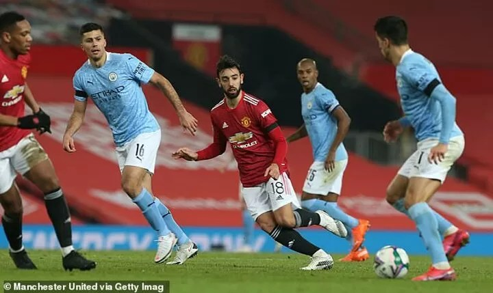 Bruno Fernandes 'sad and disappointed' after Carabao Cup exit 3