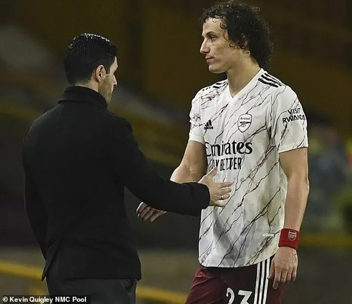 Angry Arteta hits out at VAR decision to send David Luiz off in defeat at Wolves 3